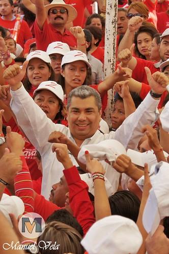 DSC00240 Mitin de los candidatos Zavala-Montero por LAE Manuel Vela