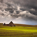 Mammatus Clouds and Barn, Palouse by Chip Phillips