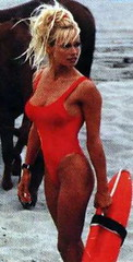 Pamela Anderson, Baywatch, 1995.
