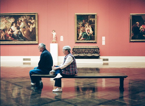 Old Couple in Toledo Museum of Art