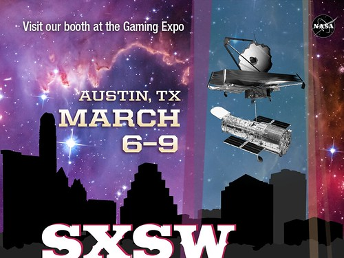 JWST and Hubble are at SXSW 2014!