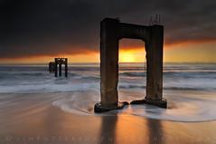 Abandoned Pier - Davenport, California