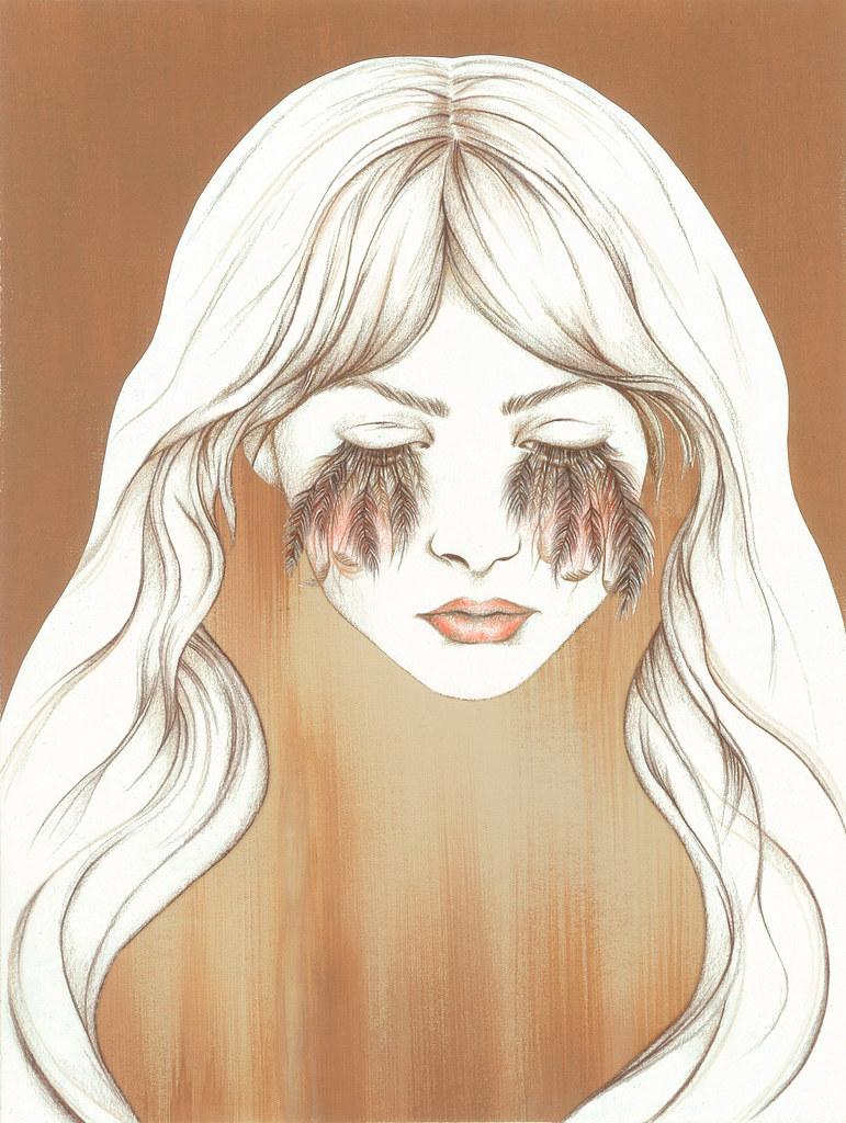 Illustration Portrait drawn by Angela Stasio