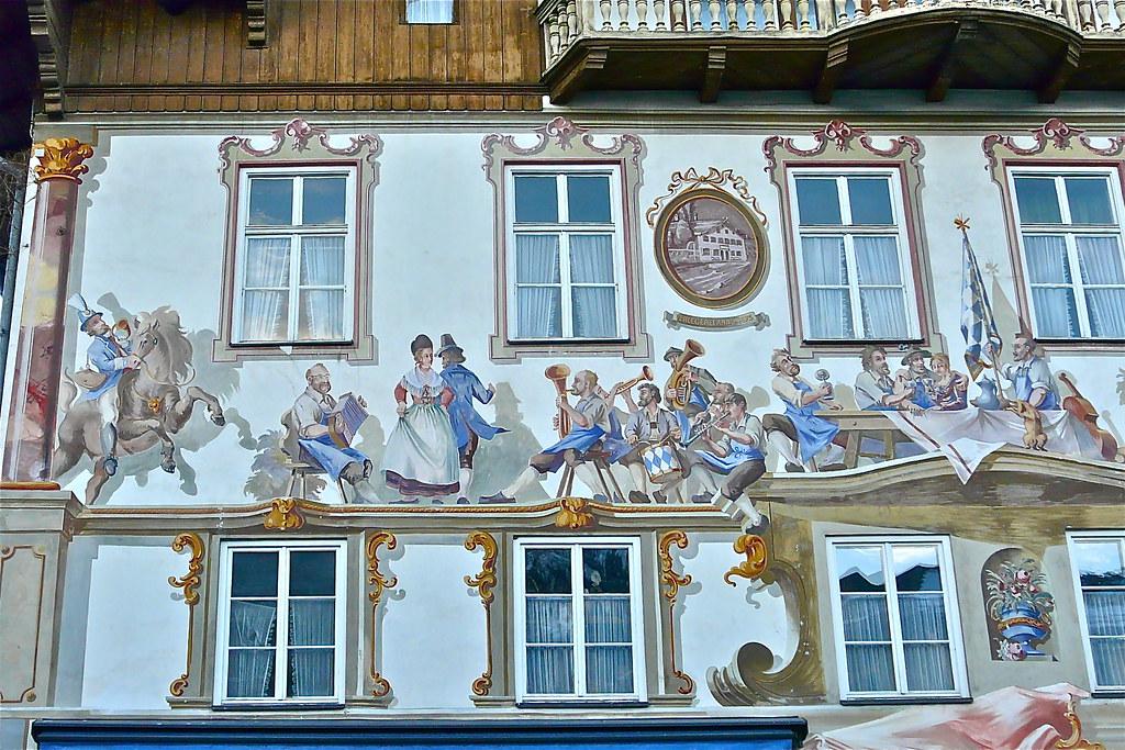Oberammergau - Beieren - Duitsland
