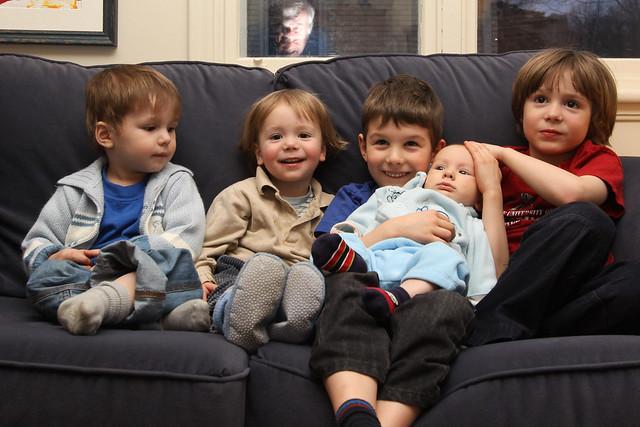 Les 5 cousins IV