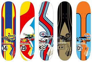 Aesthetics Skateboards: Livery Series
