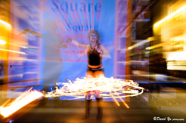 Temple of Poi 2009 Fire Dancing Expo
