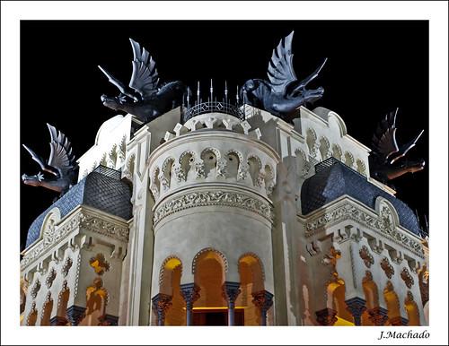 españa spain arquitectura monumento ceuta casadelosdragones laisladelosdespropositos