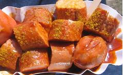currywurst, food, dish, cuisine,