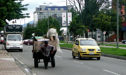 Recycler, Carrera 15, Bogota