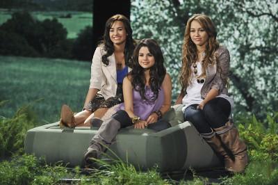 Selena, Demi, Miley (: