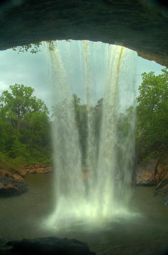 waterfall alabama lori walden hdr noccalulafalls behindthefalls gadsdenalabama alabamawaterfalls
