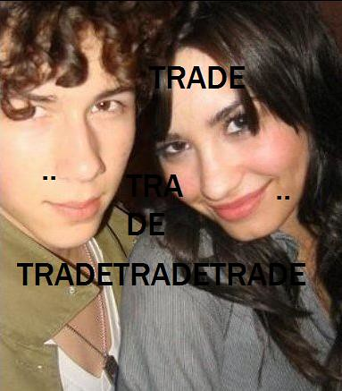 Nick Jonas Demi Lovato on Nick Jonas   Demi Lovato Rare   Trade   Over 9 000 Views    Flickr