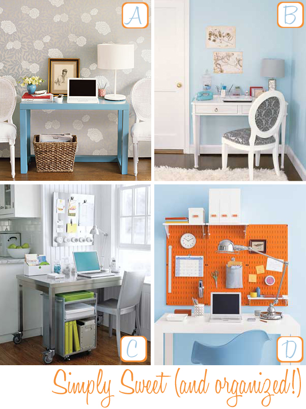 Home office organizing tips decor8 Home office organization ideas