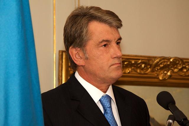 Wiktor Juschtschenko, Präsident der Ukraine, im Landgut - 3664410965_c89af09e4e_z