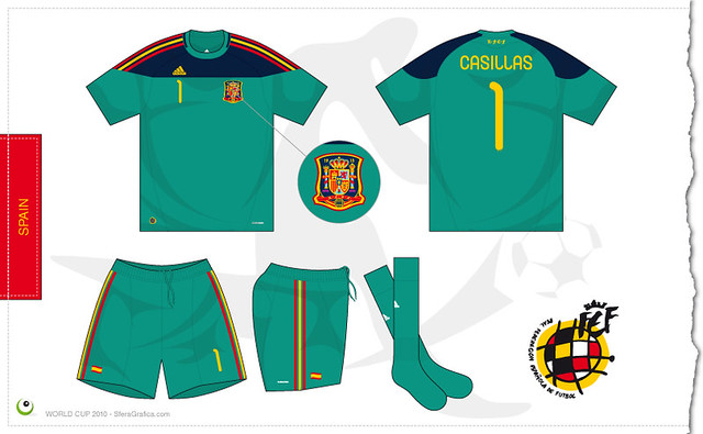 Spain Goalkeeper Shirt