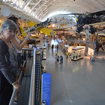 Steven F. Udvar-Hazy Center: main hall panorama