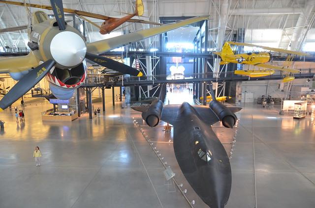 Steven F. Udvar-Hazy Center: P-40 Warhawk, SR-71 Blackbird ...