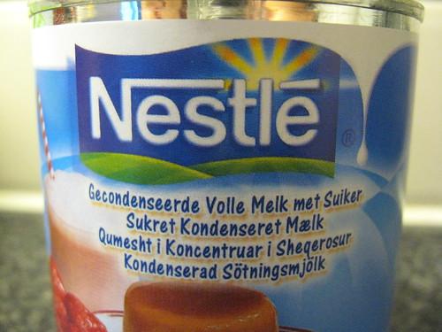 Leite moça holandês