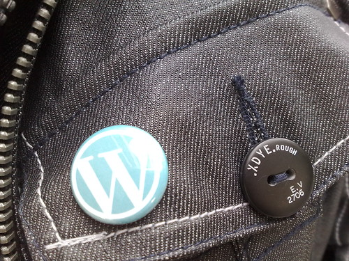 Wordpress Button Closeup