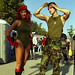 Small photo of Cammy and Guile