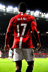 [Free Images] Sports, Ball Games, Occupation / Position, Sportsperson, Association Football, Manchester United F.C., Nani, People - Behind ID:201205021200