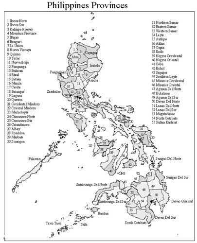 Philippines Map Black And White.Philippine Province Map Www Cebu Ph Com Maps Philippine Pr Flickr