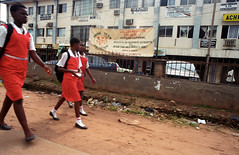 Onitsha Anambra State South Eastern Nigeria School Girls Oct 2002 326