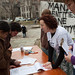 Collecting signatures to support overturning Prop 8