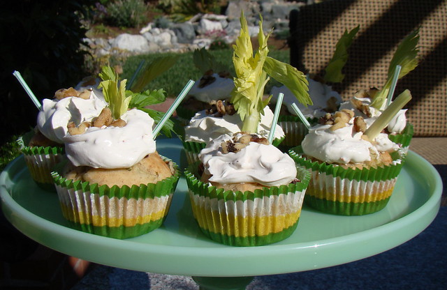 Savory Stuffed Celery Pop Cupcakes | Flickr - Photo Sharing!