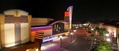 Century Theatres Pleasant Hill Night Neon Panorama