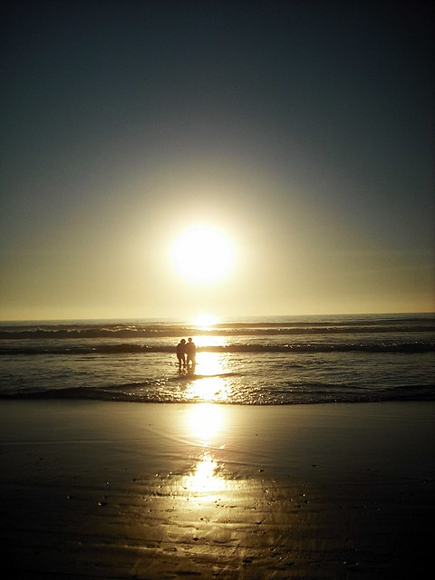 Whit The Sunset...The Love