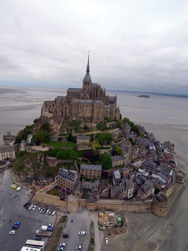 Mini KAPiNormandy at the Mont St Michel