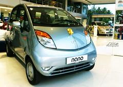 automobile, automotive exterior, vehicle, automotive design, subcompact car, tata nano, city car, bumper, sedan, land vehicle, motor vehicle,
