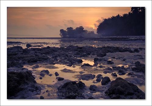 india mist color colour beach sunrise nikon rocks soe havelock andaman d80 abigfave elephantabeach
