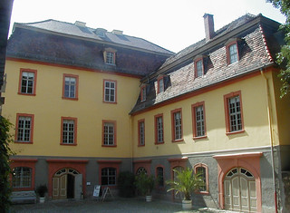Obraz Wittumspalais. 2004 germany deutschland weimar thüringen thuringen palace schloss annaamalia wittumspalais