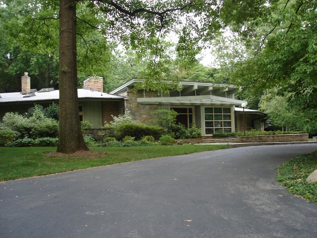 Mid Century Modern Homes In Indianapolis In Flickr