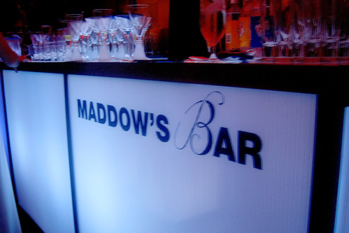 Rachel Maddow's 2nd Floor Bar