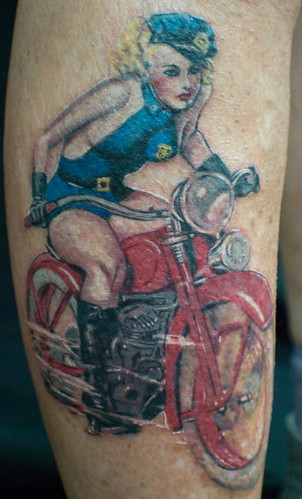 Tatuajes Pin Up bad-ass pin up girl | find me a tattoo