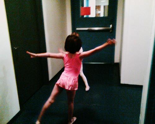 ballet class lesson