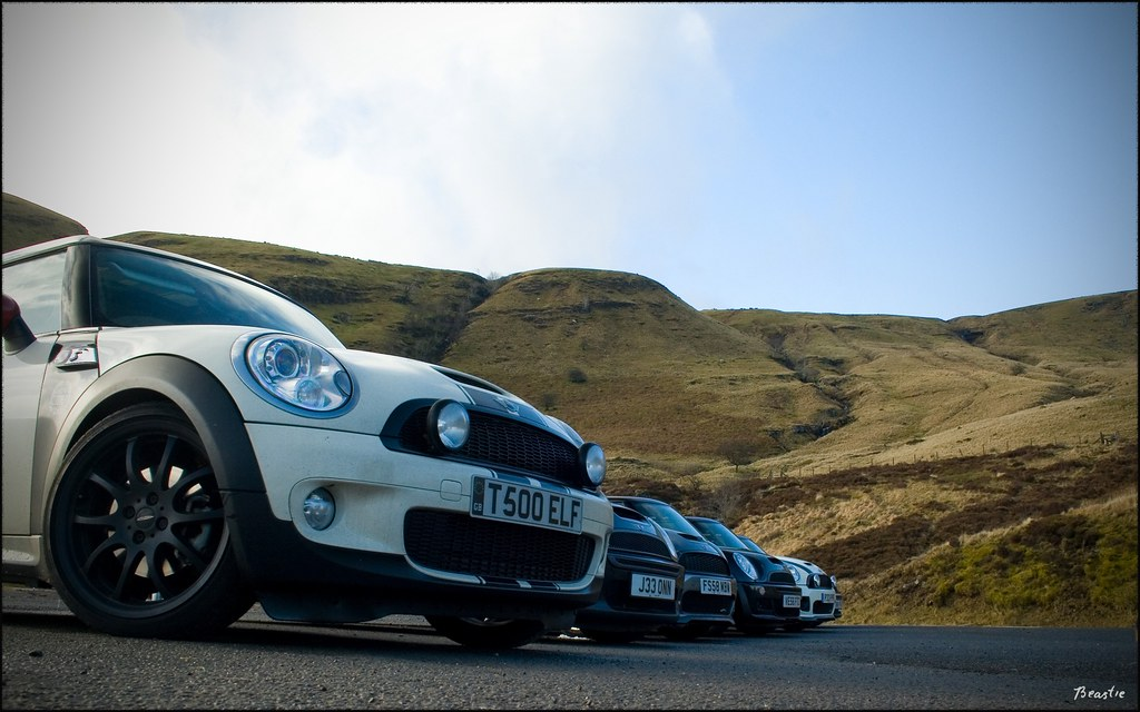 MINIS in The Brecons