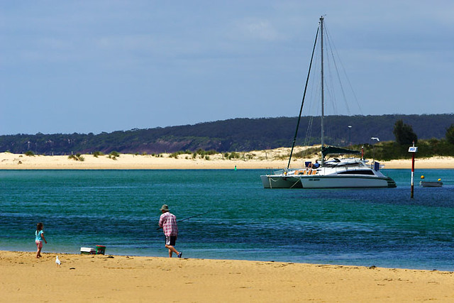 Merimbula Australia  city images : Merimbula, New South Wales, Australia, lake, beach IMG 2544 Merimbula ...