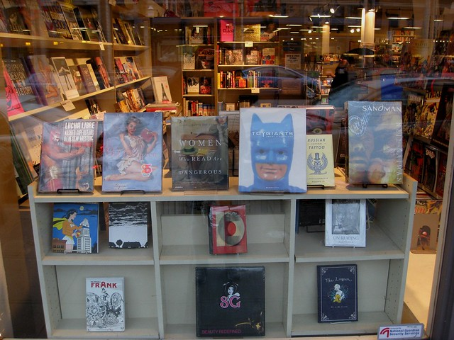 What's in the Window at Bailey-Coy books?