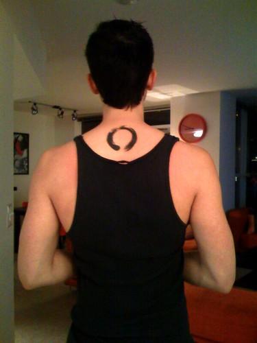 Cut tattoo for Cut throat tattoo