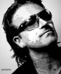 Sergio Rueda - Bono U2 by srueda43