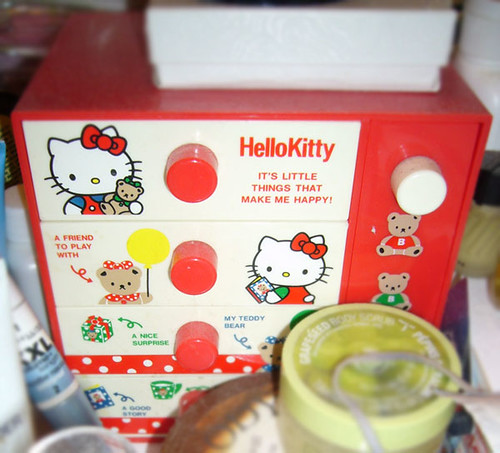 Vintage Hello Kitty Jewelry Box