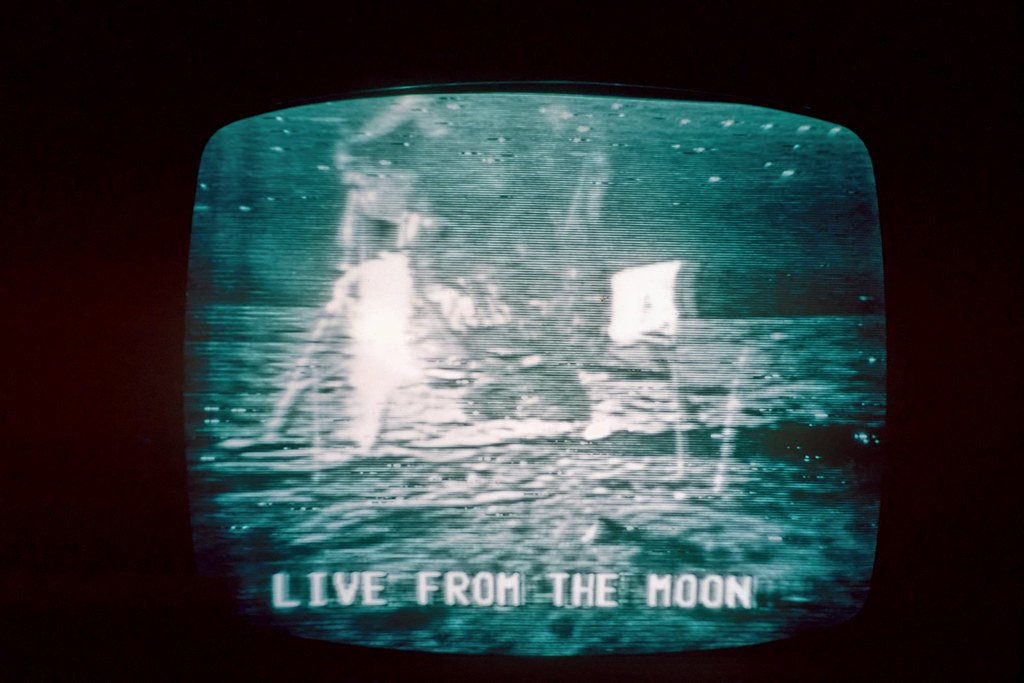 live from the moon
