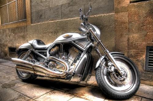 Harley Davidson In Barcelona