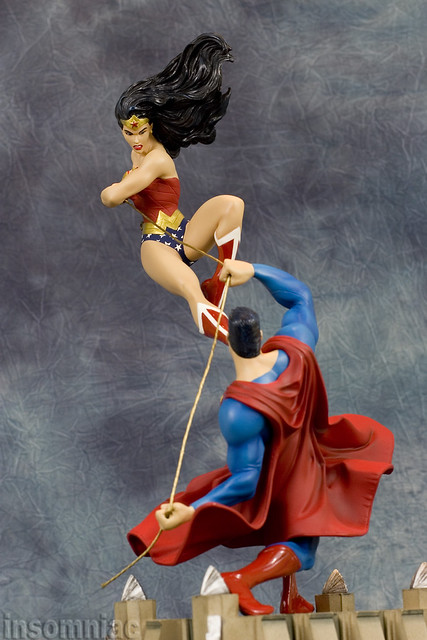 Superman vs Wonder Woman | Flickr - Photo Sharing!