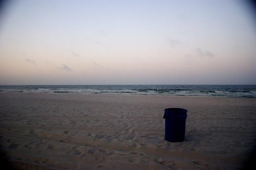 sunrise florida trashcan panamacitybeach